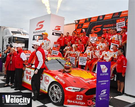 CHAMPIONSHIP DOUBLE FOR SHELL V-POWER RACING TEAM