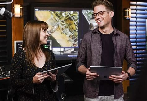 Eric and Nell - NCIS: Los Angeles Season 8 Episode 11 - TV