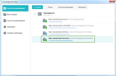 Synology Drive Client sync problem | ON3JT