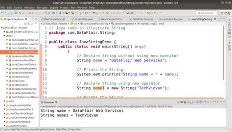 Java String (Methods & Constructor) with Syntax and