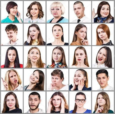 People expressing different emotions — Stock Photo © kotin