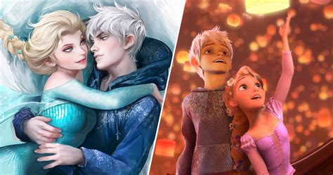 22 Disney And DreamWorks Crossover Relationship Photos