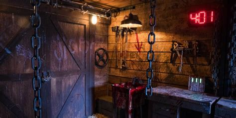 Escape Rooms Offer Horror Fans a Chance to Prove Their