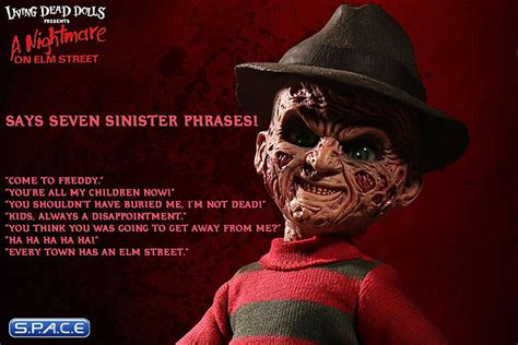 Freddy Krueger with Sound Living Dead Doll (Nightmare on