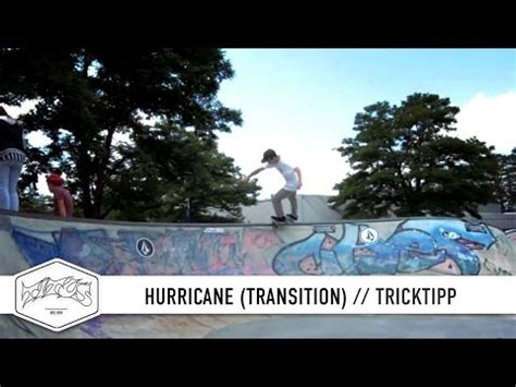 Skateboard Trick Tipp - How to BS Hurricane (Transition