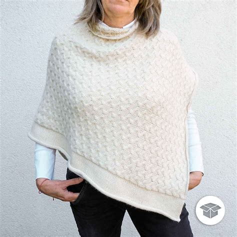STRICKPAKET | PONCHO LUCIDA | Pascuali Wolle & Strickwolle