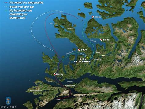 World's first Ship Tunnel in Norway | wordlessTech