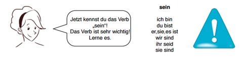 """Basic German Vocabulary: the verb """"sein"""" - to be"""