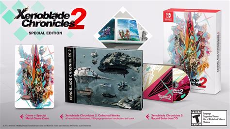 Xenoblade Chronicles 2 special edition and pro controller