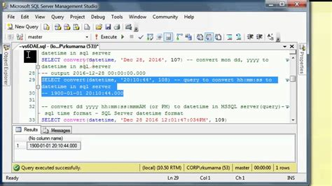 How to convert string to datetime in sqlserver with