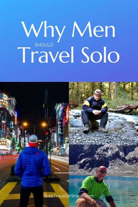 Perspectives on Male Solo Travel