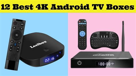 12 Best 4K Android TV Boxes 2020 - Buy Online Android TV