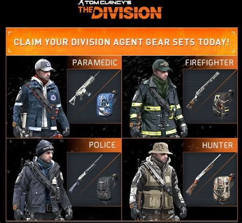 Buy Equipment set Tom Clancy´s The Division PS4 KEY PSN