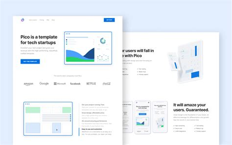 Pico - Startup HTML5 Responsive Website Template