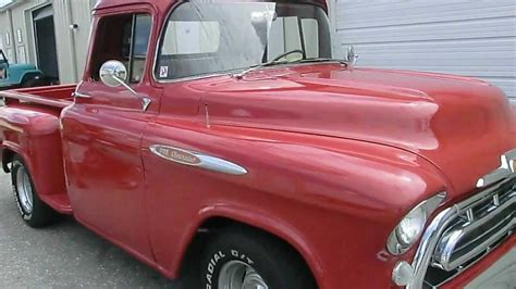 Chevy Pick Up Truck 1957 , Classic Car Import Florida USA