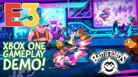 Battletoads Xbox One Gameplay - The E3 2019 Gameplay Demo