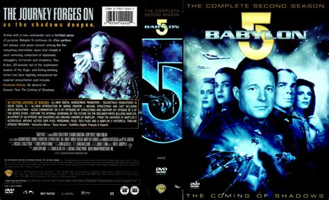 BABYLON 5 (1994) SEASON 2 DVD COVER AND LABELS - DVDcover