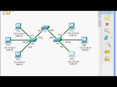 Native Vlan Configuration in cisco packet tracer - YouTube
