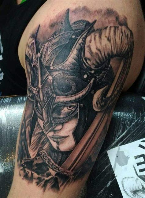 My Valkyrie tattoo done couple of years ago by Daniel