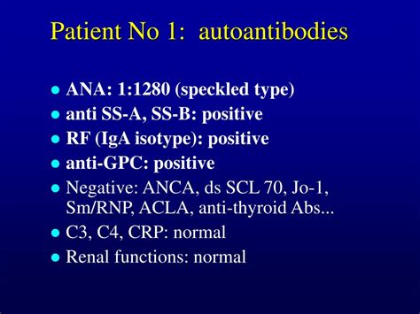 PPT - Clinical and Laboratory Manifestation of Selective