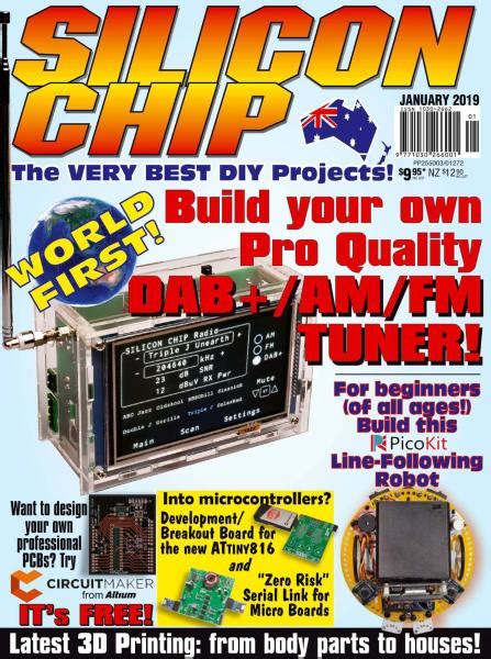 Silicon Chip - January 2019 PDF download free