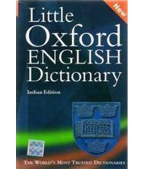 Little Oxford English Dictionary Hardcover (English) 9th